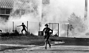 Police opened fire on thousands of children and teenagers that day.