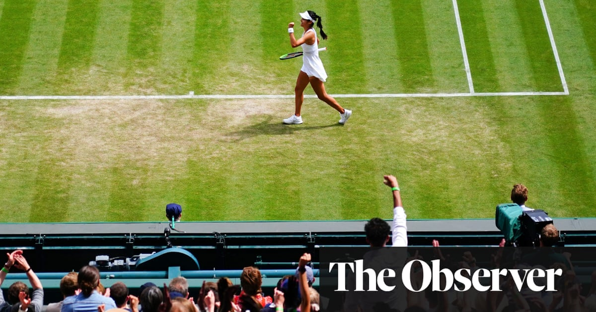 Raducanu Ridge? How Wimbledon's fans on the hill fell for a new star