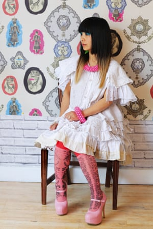 Mei-Hui Liu, Dumpling Heart founder and fashion designer  portrait from the book Voices: East London by Maryam Eisler.