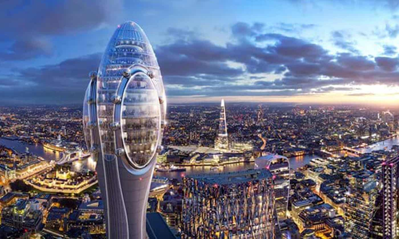 'Tulip' tower project in City of London vetoed by Sadiq Khan