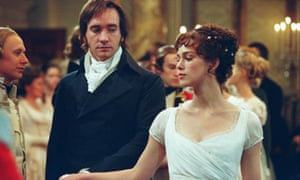 Matthew MacFadyen and Keira Knightley in the 2005 film adaptation of Pride and Prejudice.