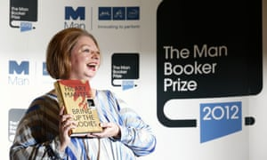 Mantel wins the 2012 Man Booker prize for Bring Up the Bodies.