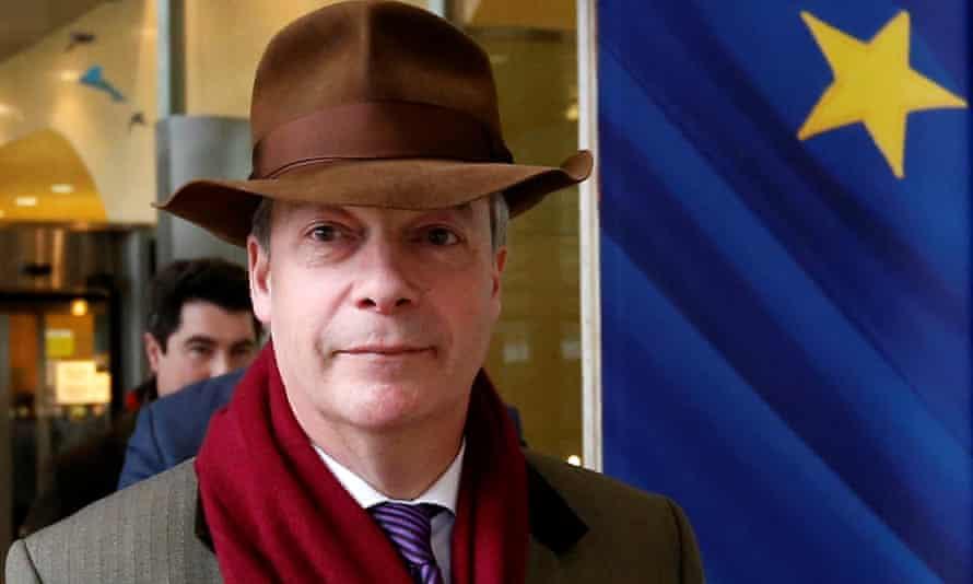 Nigel Farage in Brussels