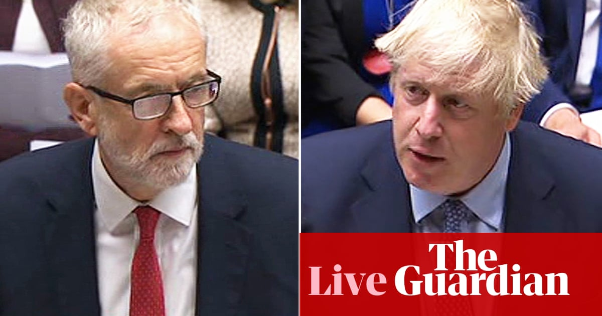 Brexit: unrepentant Boris Johnson tells Labour to 'face day of reckoning' and have an election – live news