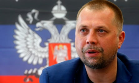 In one of the recordings, the former separatist leader Alexander Borodai is heard saying: 'I'm carrying out orders and protecting the interests of one and only state, the Russian Federation.'