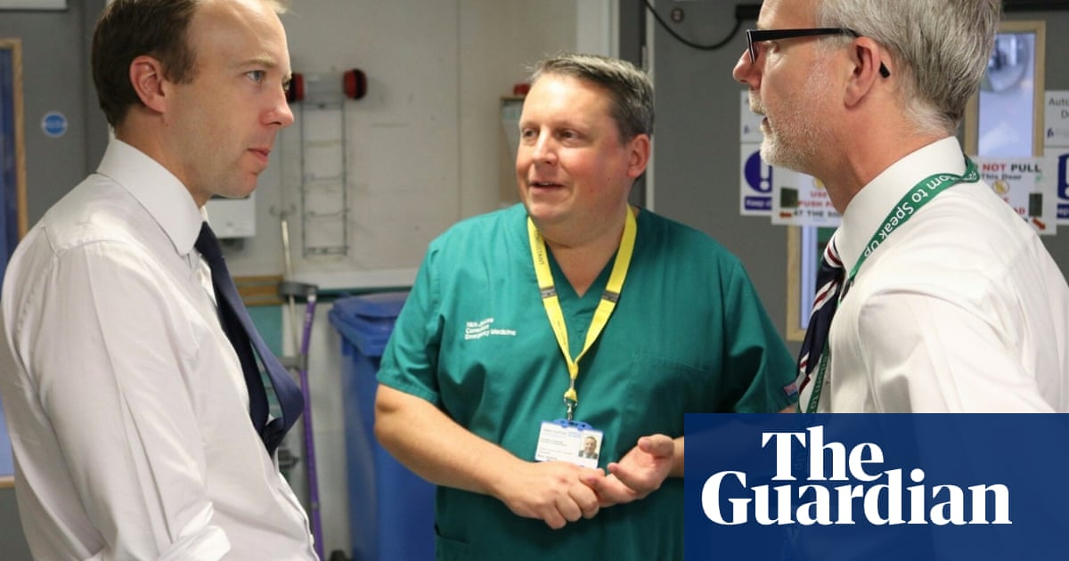 Two directors at Matt Hancock's local hospital to leave before 'bullying' review
