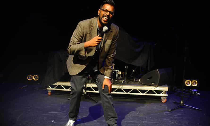 Romesh Ranganathan at the Edinburgh Festival.