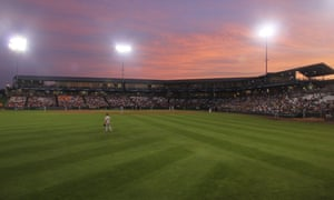 The Clinton LumberKings, pictured here on a visit to the Kane County Cougars, are one of the teams threatened by new MLB proposals