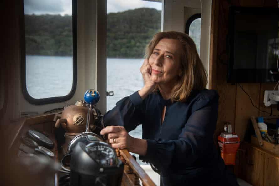 Australian author Kathryn Heyman rediscovered herself on the open ocean.