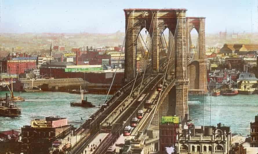 The Brooklyn Bridge c1890