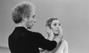 'My new life began' … Valda Setterfield with Merce Cunningham.