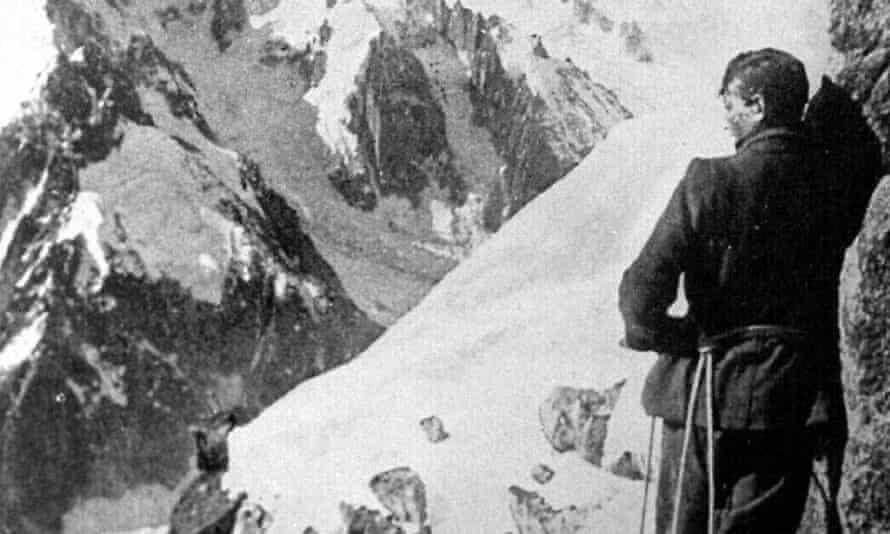 George Mallory, source of the misused 'because it's there' quote.