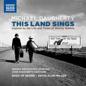 Michael Daugherty: This Land Sings album art work