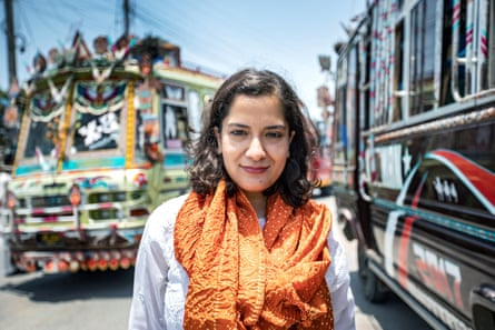 The author Sanam Maher, Karachi, whose book about Qandeel Baloch has already caused a stir in south Asia