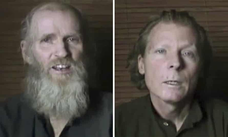 Kevin King, (left) from Pennsylvania, and Timothy Weeks, an English teacher from Wagga Wagga in New South Wales, who were abducted three years ago in Kabul.