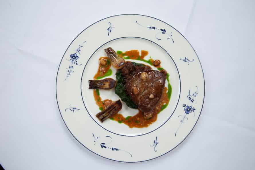 Beef cheek good enough to distract Charles, at 50 Cheyne Walk restaurant.