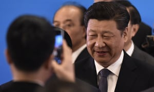 China's president Xi Jinping says he will 'step up' the drive against 'careerists and conspirators' in the Communist party.