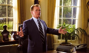 Martin Sheen as President Jed Bartlet in the West Wing.
