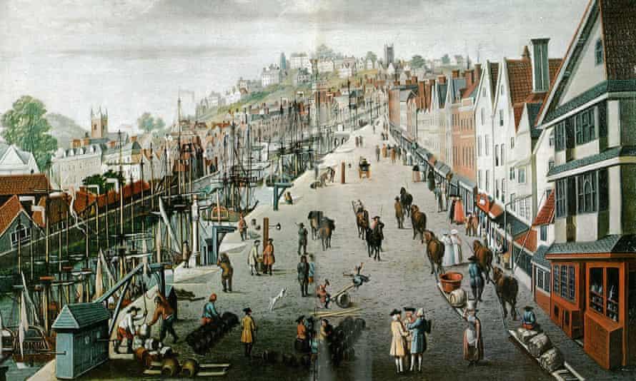 Slave port … John Kimber skippered his ship from Bristol.