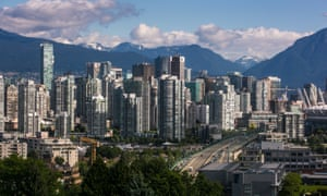 Vancouver's downtown skyline.