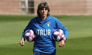 Italy coach Milena Bertolini has been pivotal in changing attitudes in the country