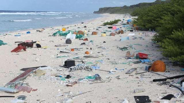 Image result for plastic on beaches south pacific