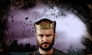 Toby Davies as Henry I of England. The king's long-lost remains may be buried under a car park in Reading.