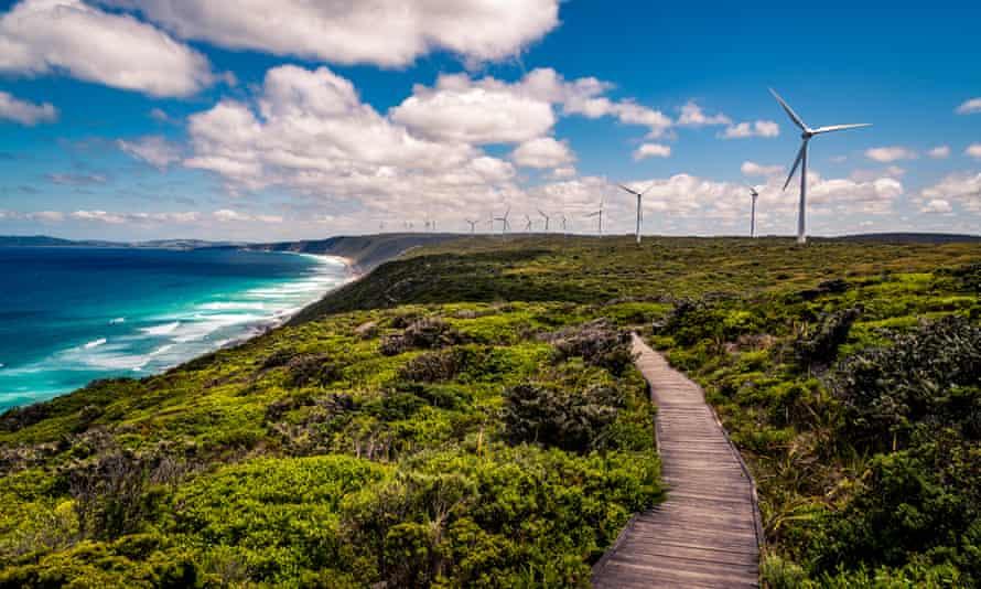 Albany Wind Farm, Western Australia.