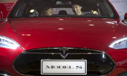 A Tesla Model S: UK prices are set to rise by 5% in the new year.