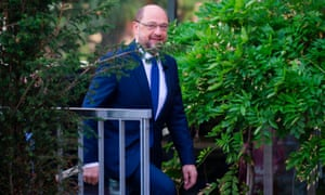 Germany's Social Democratic party candidate for chancellor Martin Schulz.
