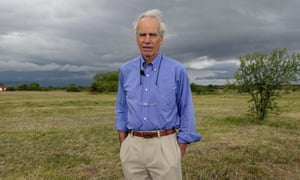 Douglas Tompkins at his property in Ibera, near Carlos Pellegrini in Corrientes Province, Argentina, in 2009.