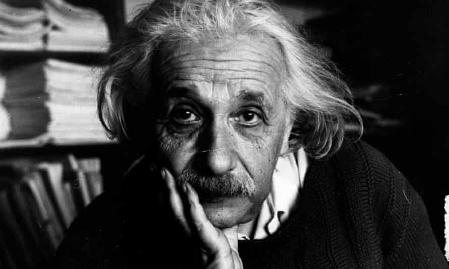 Albert Einstein, who suffered from imposter syndrome.