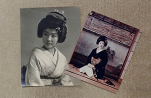Old photographs of Ikuko that were taken after she moved to Tokyo in 1964