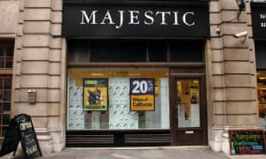 A Majestic Wine shop