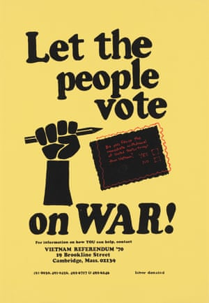 Vietnam Referendum '70, Let the People Vote on War!, 1970