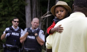Most of the migrants crossing into Canada are Haitians who have been living in the US for years.