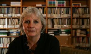 Juliet Lyon in the Prison Reform Trust offices in London.
