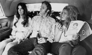 Elayne Heilveil, Rip Torn, Ahna Capri in Payday, 1973