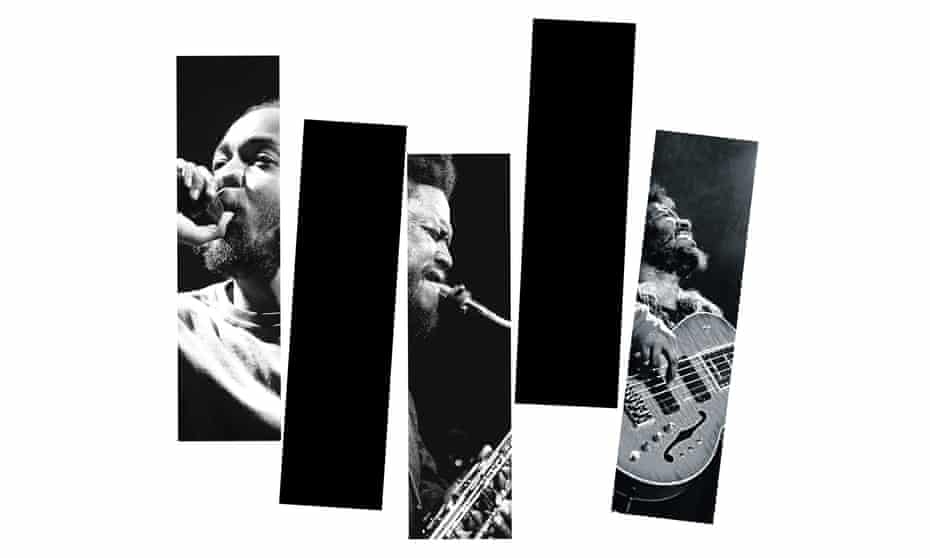 All that jazz … Kendrick Lamar, Kamasi Washington and Thundercat.