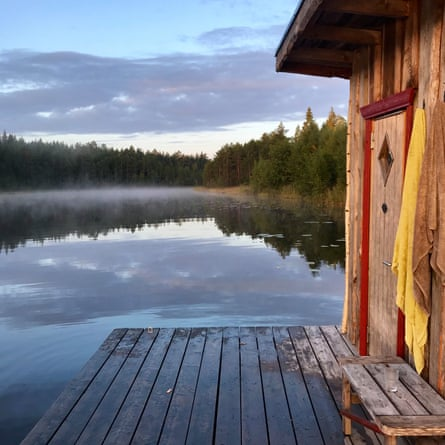 Lakeside cabin Shambala Gatherings, Sweden