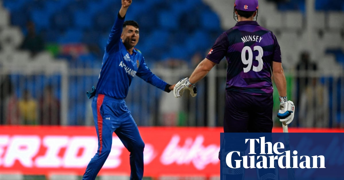 Scotland slump to heavy T20 World Cup defeat against Afghanistan