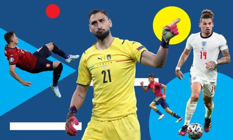 Euro 2020 team of the tournament: from Donnarumma to Sterling