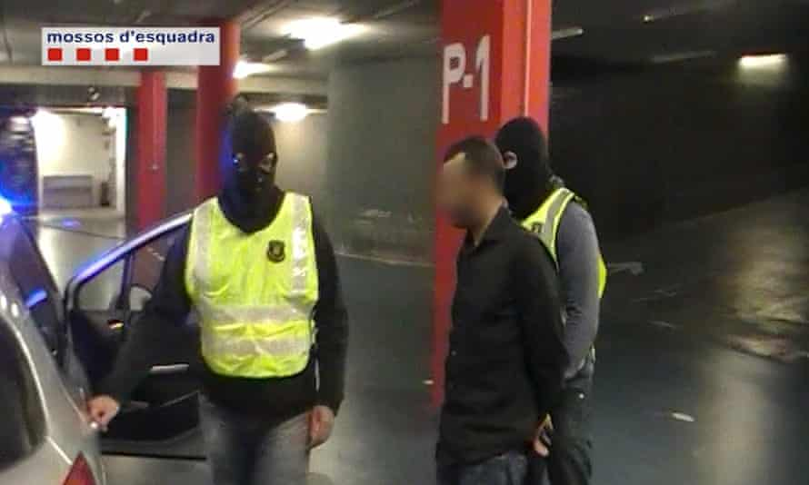 Spain police Ali Charef Damache FBI Muslim cartoon