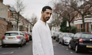 'Evidently both furious and desperate to communicate his message' ... Riz Ahmed.