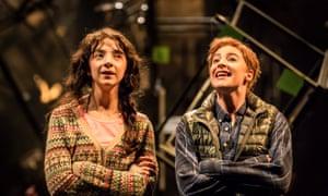 Patsy Ferran (left) as Celia and Rosalie Craig as Rosalind in As You Like It.