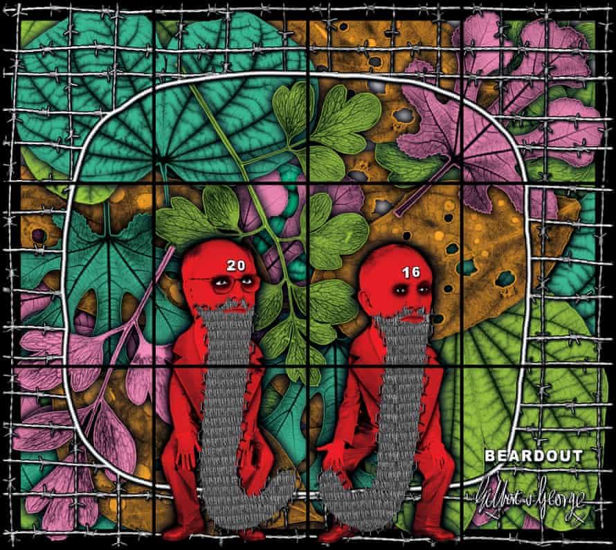 Beardout by Gilbert & George