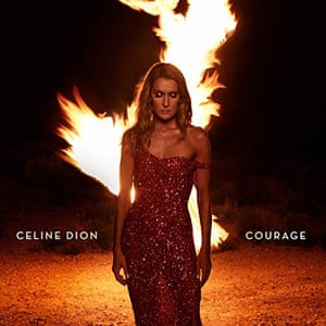 Céline Dion: Courage album art work