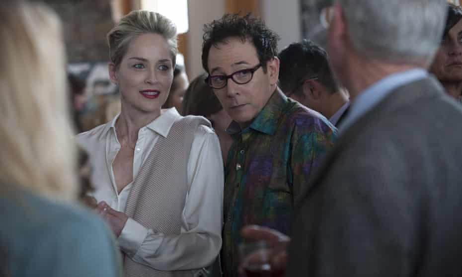 Sharon Stone and Paul Reubens in Mosaic.