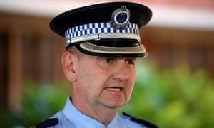 Detective Superintendent Inspector Brett McFadden
