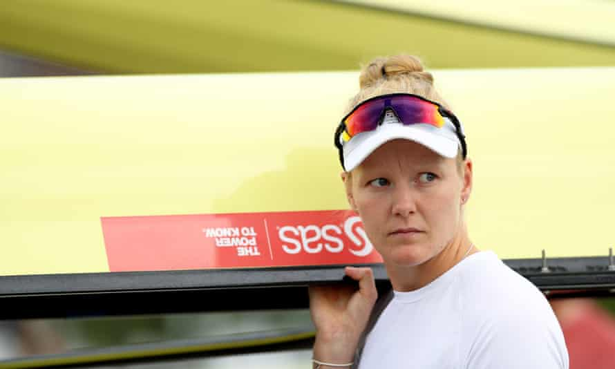 Polly Swann describes the Olympics as being 'like a drug'